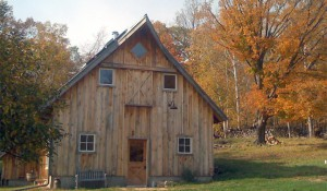 post and beam barn