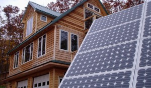 off grid home with solar
